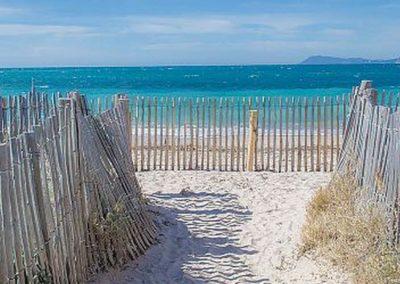 Hyeres Beach