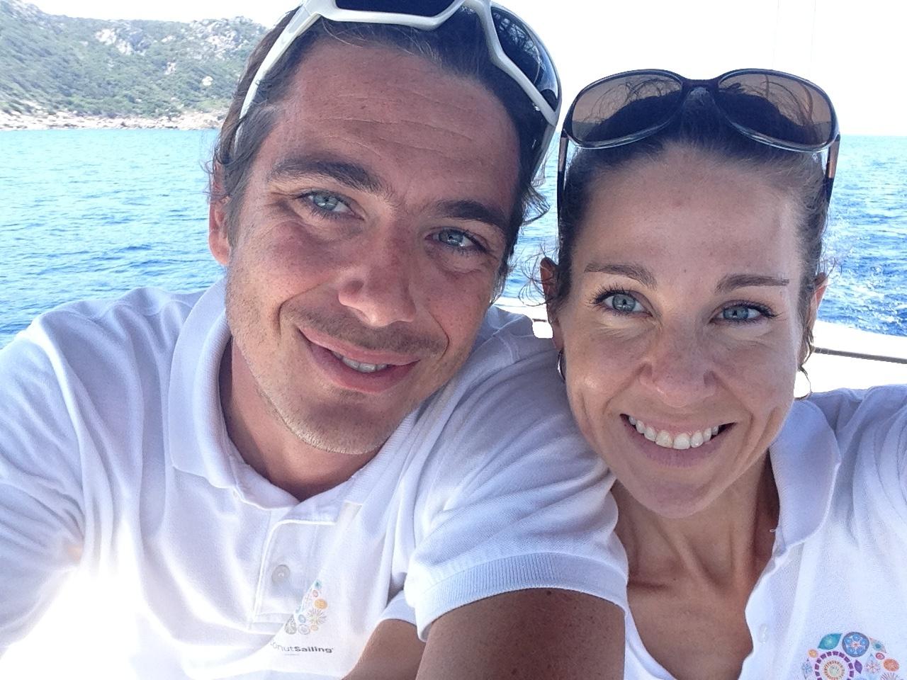Cecile et Jean-Pierre CoconutSailing