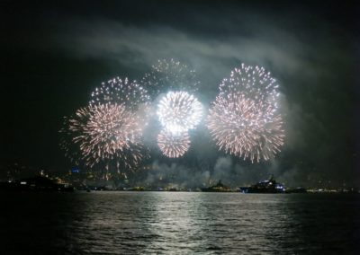 CoconutSailing Cannes Fireworks
