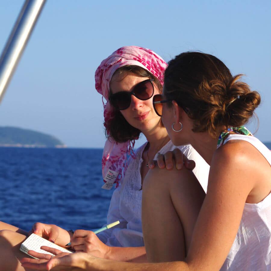 Temoignage Sarah Meublat à CoconutSailing